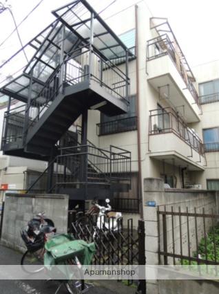東京都大田区、大森海岸駅徒歩13分の築30年 3階建の賃貸マンション