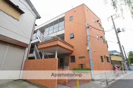 東京都大田区、大森町駅徒歩13分の築28年 3階建の賃貸マンション