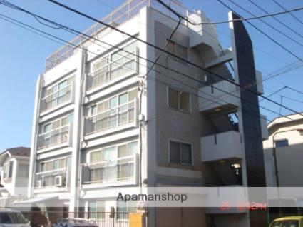 東京都大田区、田園調布駅徒歩11分の築46年 4階建の賃貸マンション