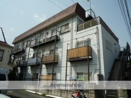 東京都大田区、梅屋敷駅徒歩14分の築38年 3階建の賃貸マンション