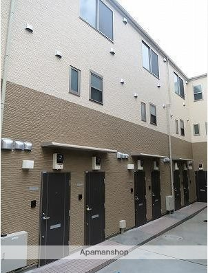 東京都大田区、長原駅徒歩20分の築1年 3階建の賃貸アパート
