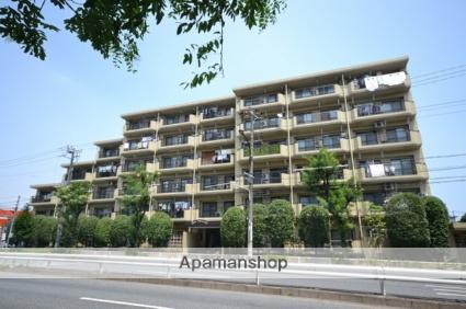 東京都大田区、御嶽山駅徒歩6分の築28年 6階建の賃貸マンション