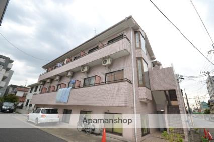 東京都大田区、久が原駅徒歩15分の築25年 3階建の賃貸アパート