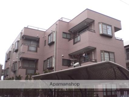東京都大田区、京急蒲田駅徒歩17分の築17年 3階建の賃貸マンション