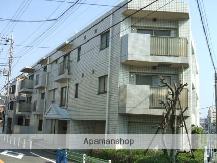 東京都大田区、旗の台駅徒歩11分の築26年 3階建の賃貸マンション
