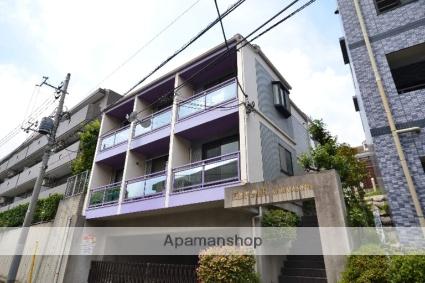 東京都大田区、長原駅徒歩23分の築26年 3階建の賃貸マンション