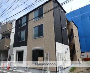 東京都大田区、大森町駅徒歩12分の新築 3階建の賃貸アパート