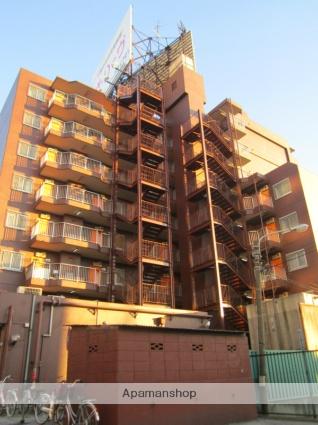 東京都大田区、大鳥居駅徒歩6分の築35年 8階建の賃貸マンション