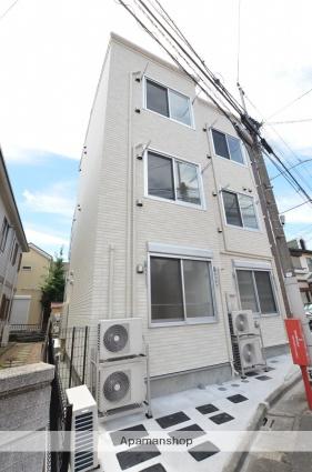 東京都大田区、雑色駅徒歩18分の築2年 3階建の賃貸アパート
