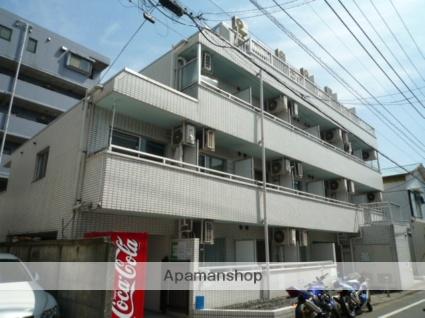 東京都大田区、大森町駅徒歩11分の築28年 5階建の賃貸マンション