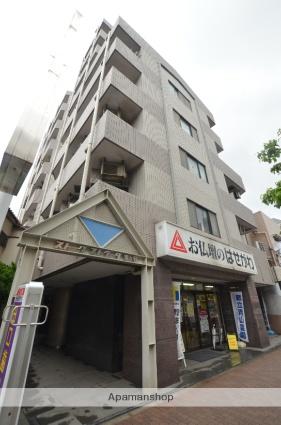 東京都大田区、石川台駅徒歩13分の築24年 8階建の賃貸マンション