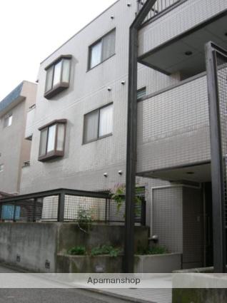 東京都大田区、石川台駅徒歩12分の築27年 3階建の賃貸マンション