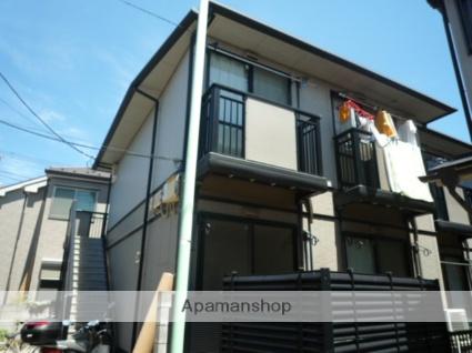 東京都大田区、大森町駅徒歩15分の築19年 2階建の賃貸アパート