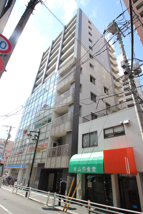 東京都葛飾区、新小岩駅徒歩2分の築9年 12階建の賃貸マンション