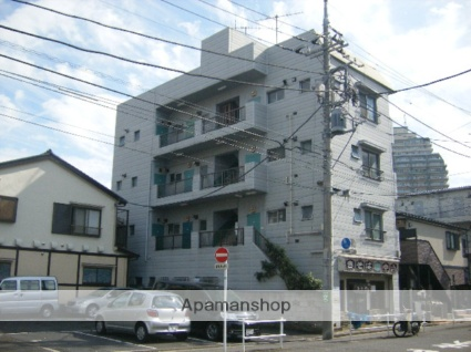 東京都葛飾区、新小岩駅徒歩5分の築45年 4階建の賃貸マンション