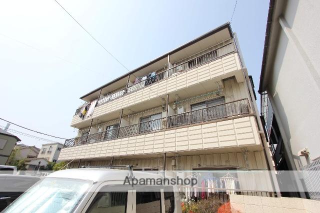 東京都江戸川区、平井駅徒歩13分の築36年 3階建の賃貸アパート
