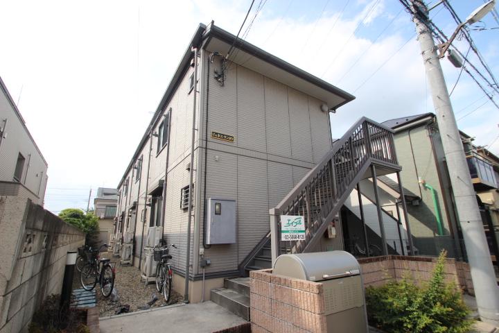 東京都葛飾区、小岩駅徒歩17分の築9年 2階建の賃貸アパート
