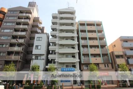 東京都江東区、錦糸町駅徒歩14分の築27年 9階建の賃貸マンション