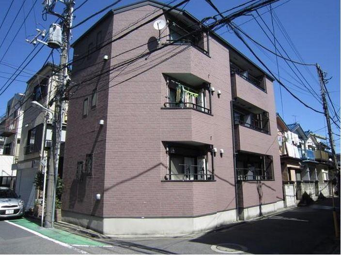 東京都葛飾区、新小岩駅徒歩14分の築16年 3階建の賃貸アパート