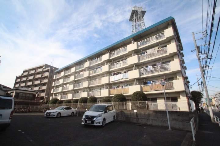東京都葛飾区、新小岩駅徒歩11分の築38年 5階建の賃貸マンション