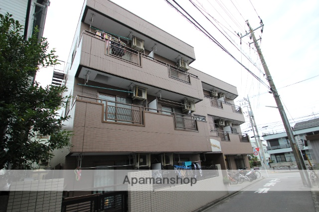 東京都葛飾区、新小岩駅徒歩15分の築23年 3階建の賃貸マンション