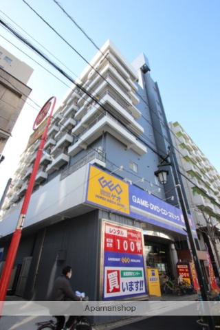 東京都葛飾区、新小岩駅徒歩7分の築45年 8階建の賃貸マンション