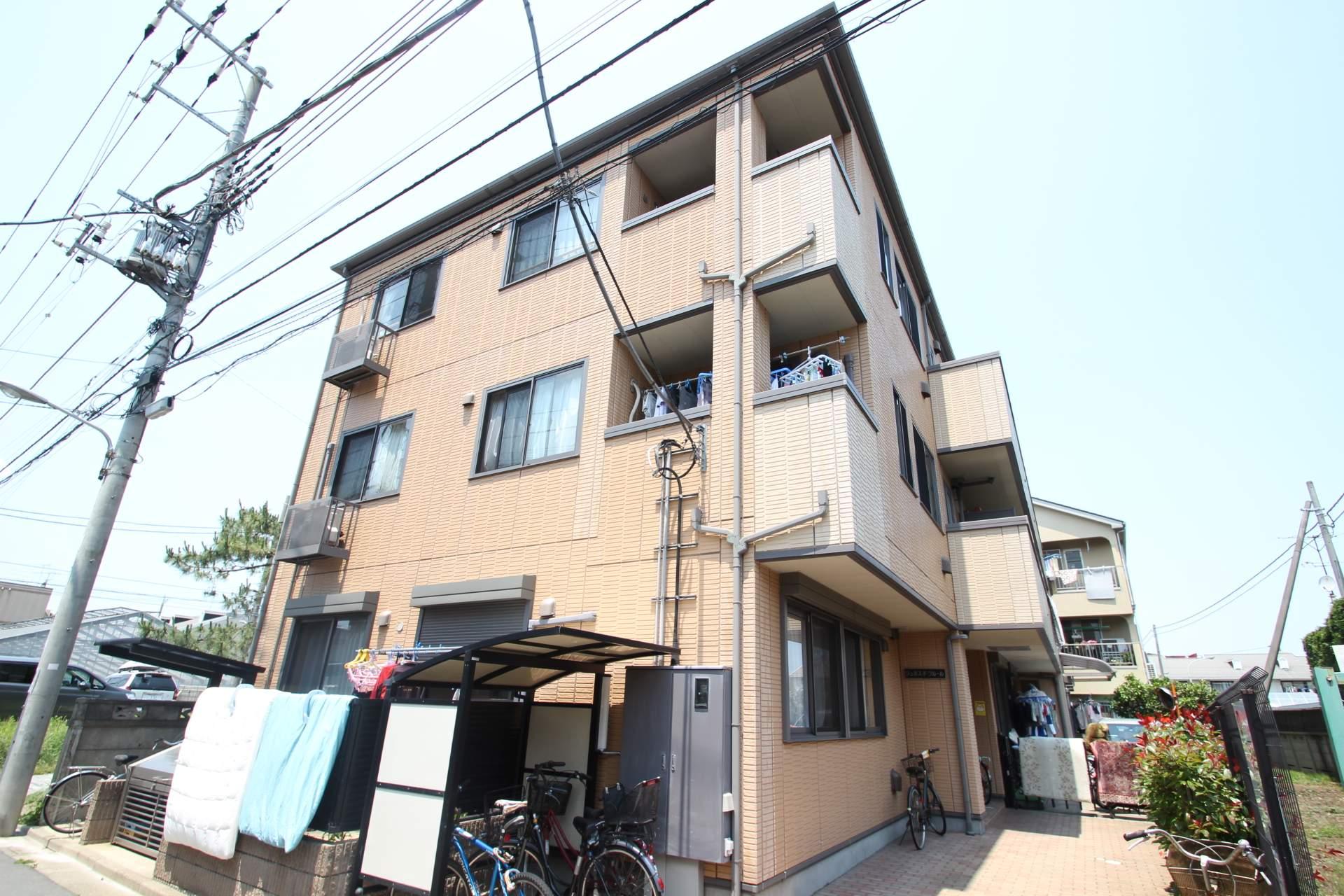 東京都江戸川区、篠崎駅徒歩17分の築12年 3階建の賃貸マンション