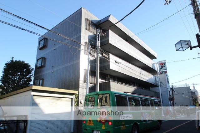 東京都江戸川区、新小岩駅徒歩15分の築22年 4階建の賃貸マンション
