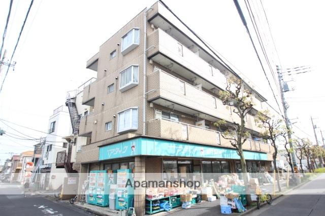 東京都葛飾区、新小岩駅徒歩16分の築28年 4階建の賃貸マンション