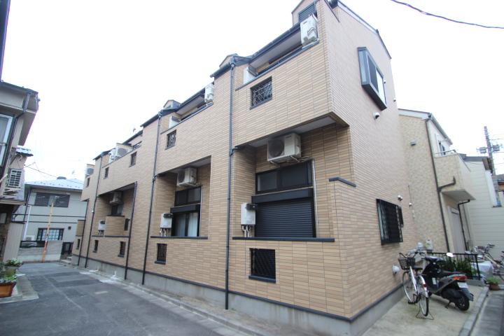 東京都墨田区、平井駅徒歩17分の築11年 2階建の賃貸アパート
