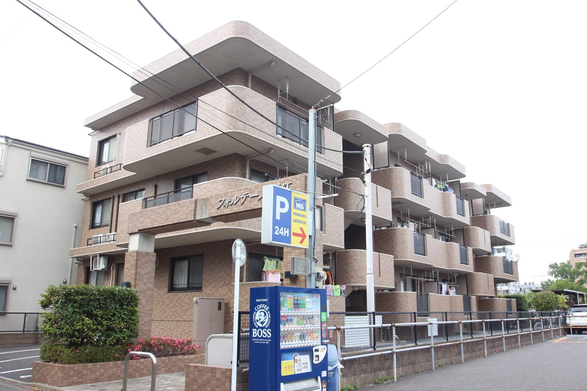 東京都江戸川区、瑞江駅徒歩10分の築17年 3階建の賃貸マンション