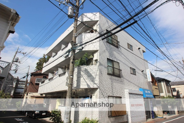 東京都江戸川区、亀戸駅徒歩23分の築30年 3階建の賃貸マンション