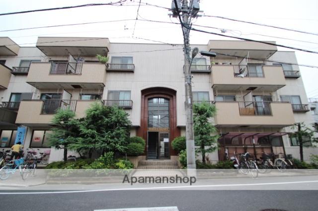 東京都江戸川区、新小岩駅徒歩16分の築28年 3階建の賃貸マンション