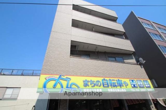 東京都江戸川区、新小岩駅徒歩18分の築22年 4階建の賃貸マンション