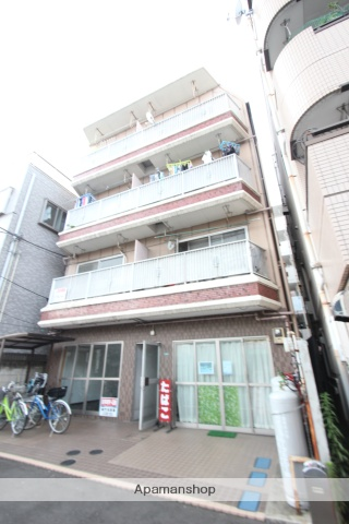 東京都江戸川区、新小岩駅徒歩19分の築38年 4階建の賃貸マンション