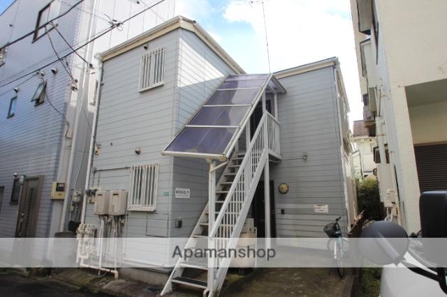 東京都江戸川区、新小岩駅徒歩10分の築18年 2階建の賃貸アパート