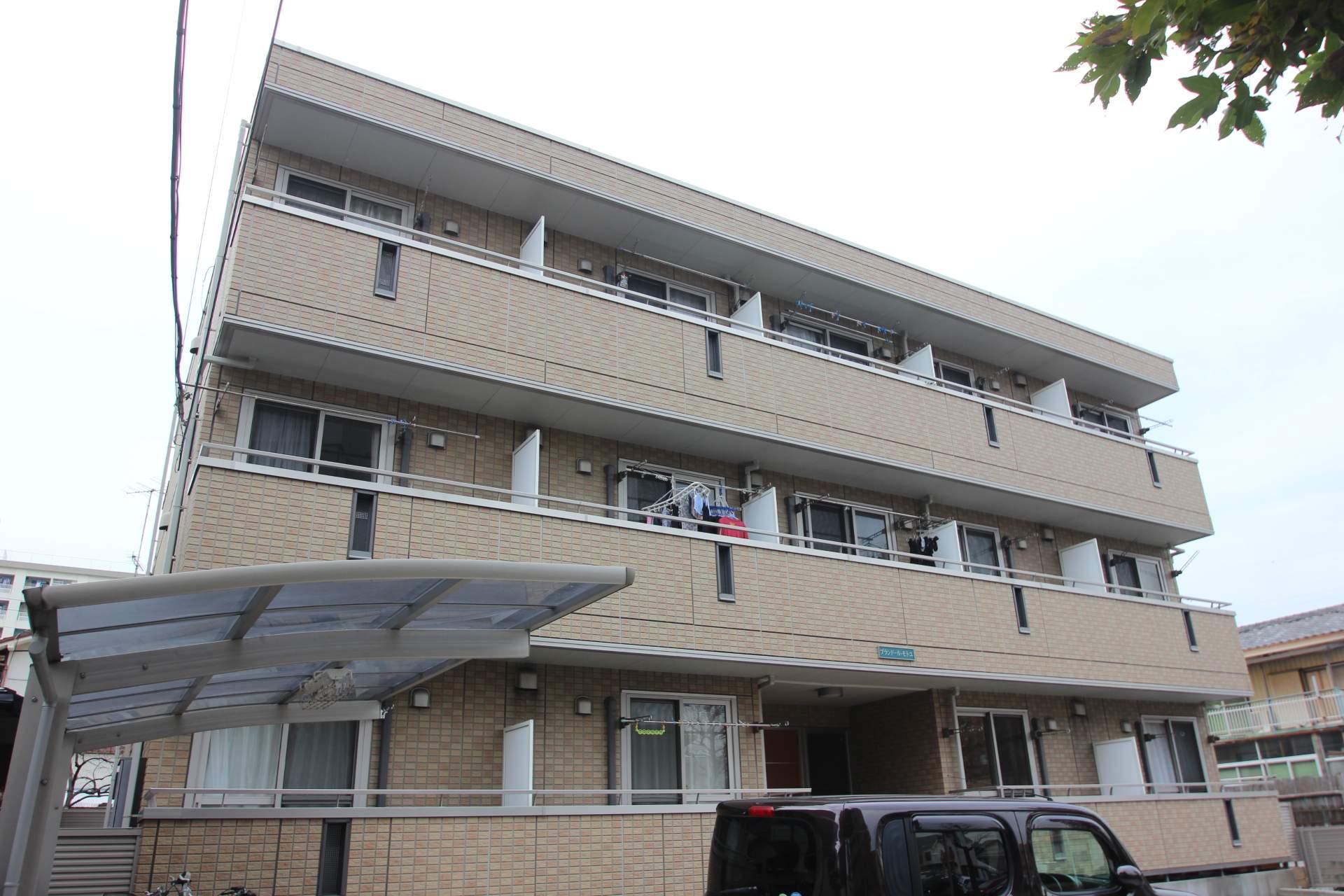 東京都江戸川区、西葛西駅徒歩19分の築10年 3階建の賃貸マンション