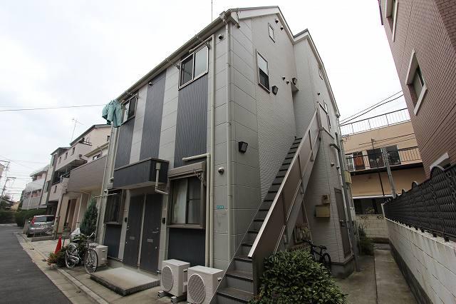 東京都江戸川区、小岩駅徒歩22分の築5年 2階建の賃貸アパート
