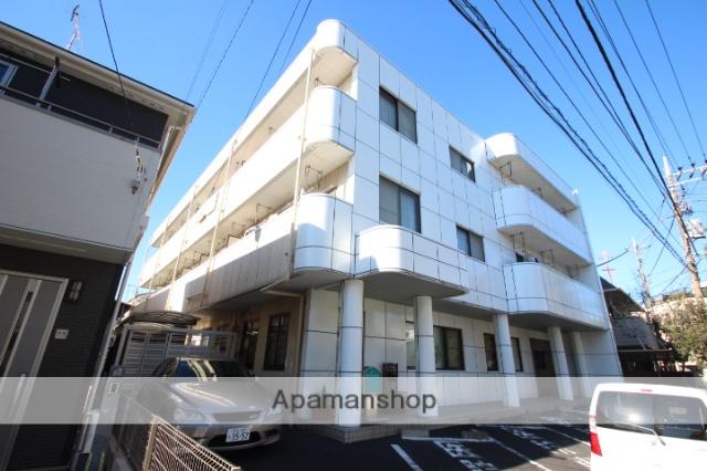 東京都江戸川区、新小岩駅徒歩23分の築28年 3階建の賃貸マンション