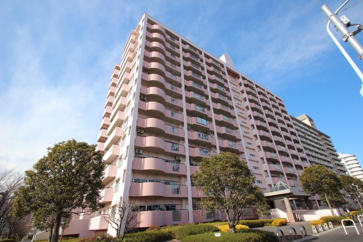 東京都江戸川区、平井駅徒歩22分の築23年 14階建の賃貸マンション