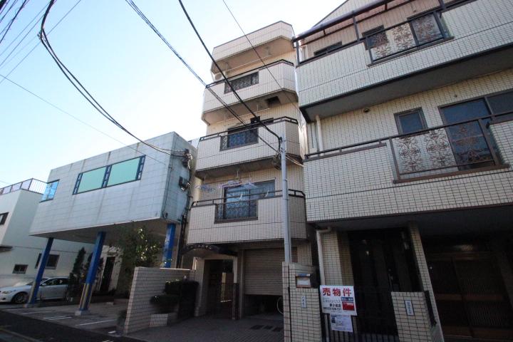 東京都葛飾区、平井駅徒歩34分の築25年 4階建の賃貸マンション