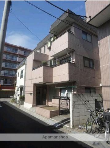 東京都葛飾区、新小岩駅徒歩15分の築27年 3階建の賃貸マンション