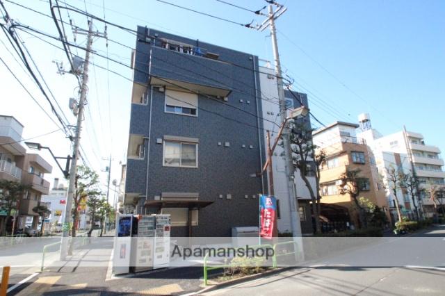 東京都葛飾区、新小岩駅徒歩12分の築3年 4階建の賃貸マンション