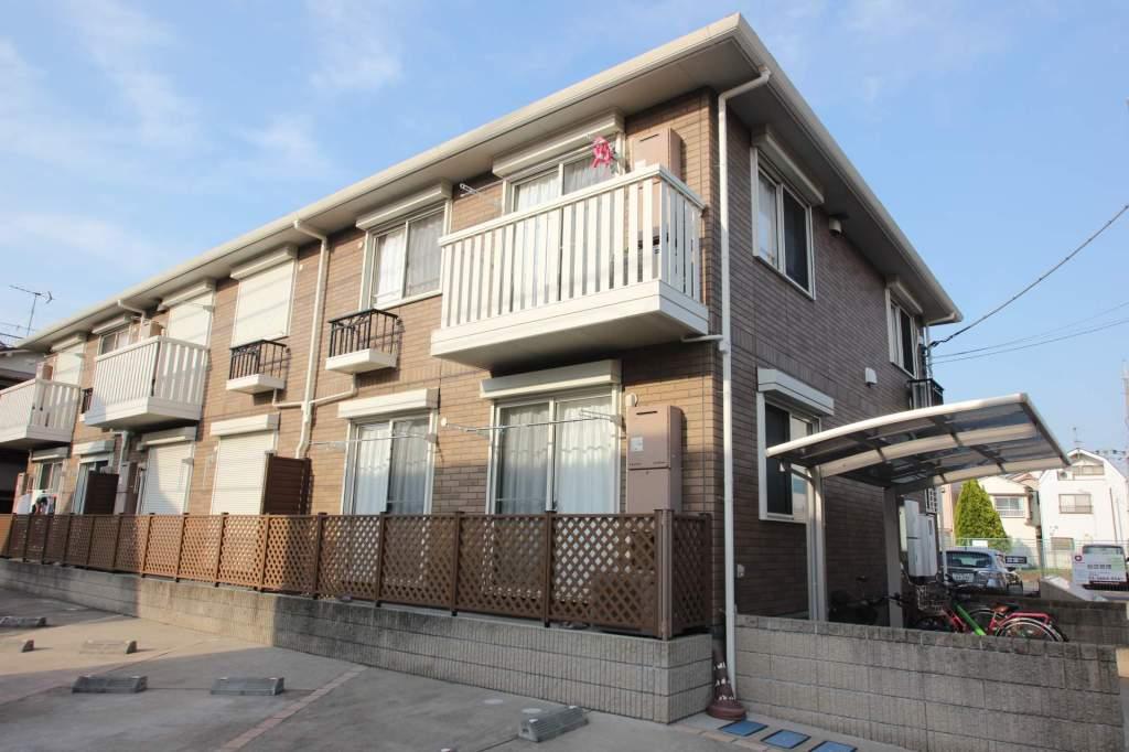東京都江戸川区、篠崎駅徒歩15分の築9年 2階建の賃貸アパート