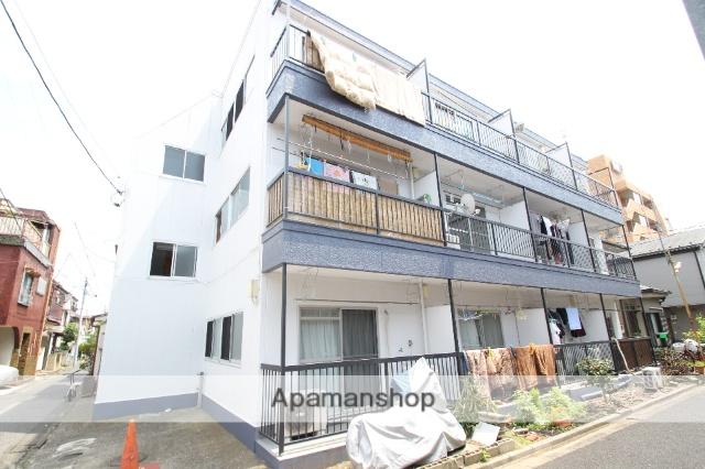東京都葛飾区、新小岩駅徒歩6分の築36年 3階建の賃貸マンション