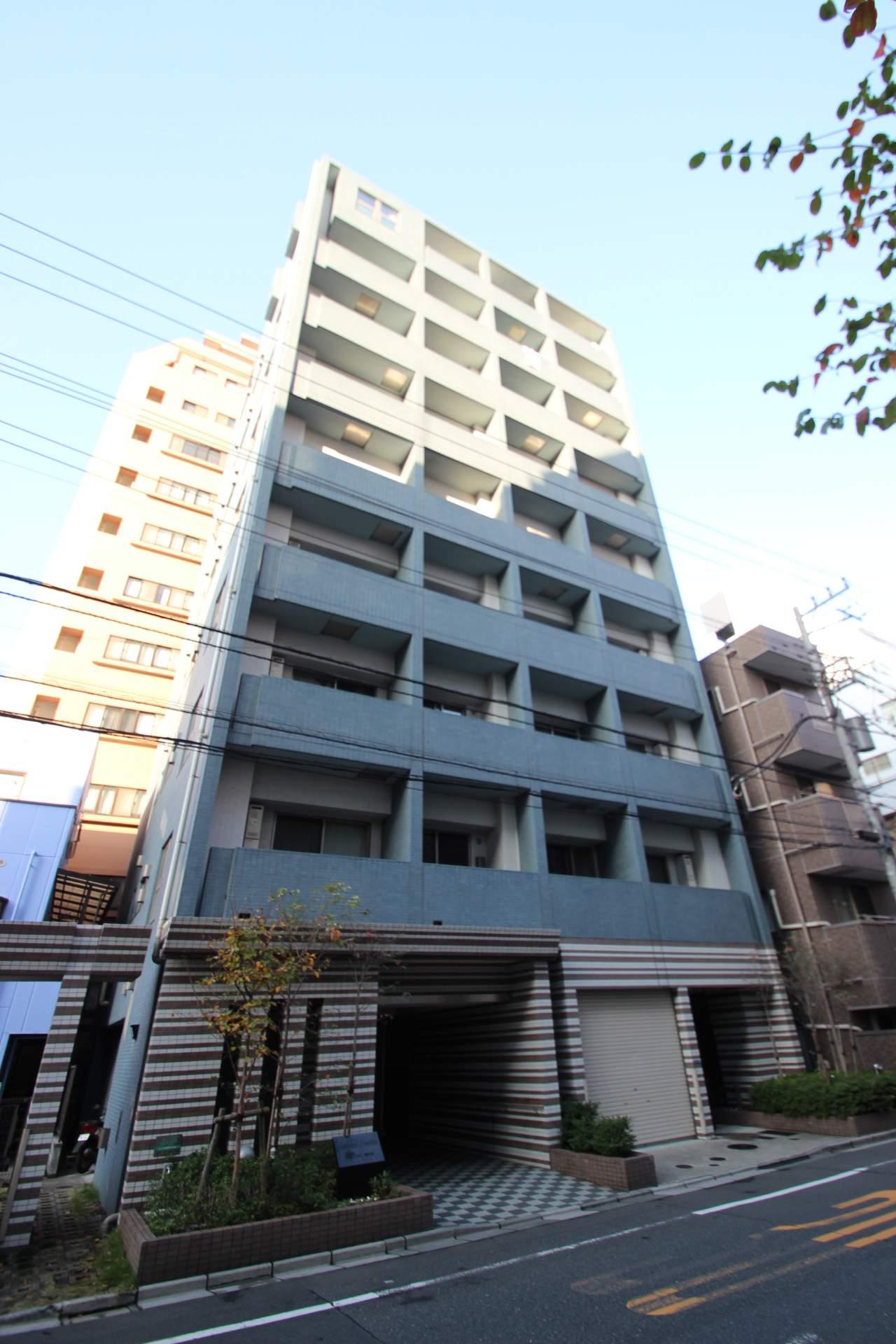東京都江東区、亀戸駅徒歩6分の築8年 9階建の賃貸マンション