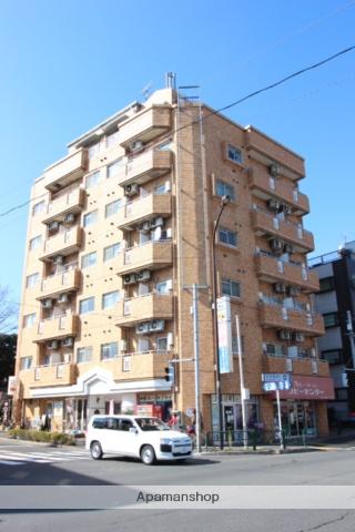 東京都江戸川区、新小岩駅徒歩15分の築28年 7階建の賃貸マンション