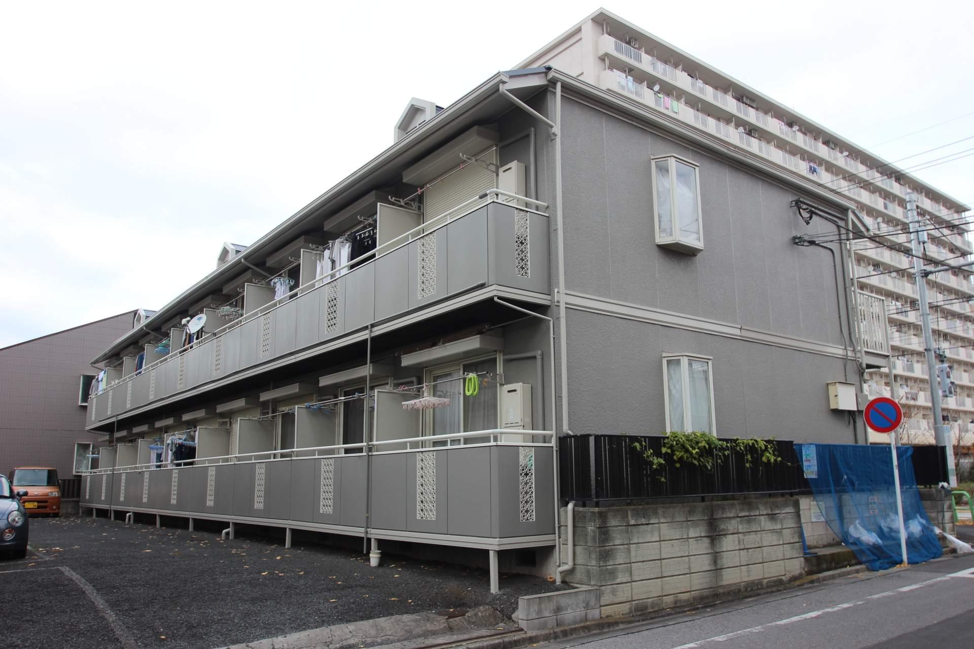 東京都葛飾区、新小岩駅徒歩48分の築24年 2階建の賃貸アパート