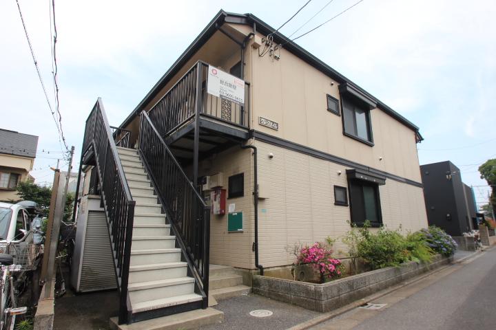 東京都江戸川区、小岩駅徒歩20分の築20年 2階建の賃貸アパート