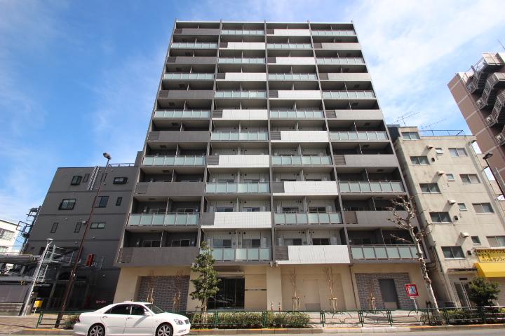 東京都江東区、平井駅徒歩23分の築1年 12階建の賃貸マンション
